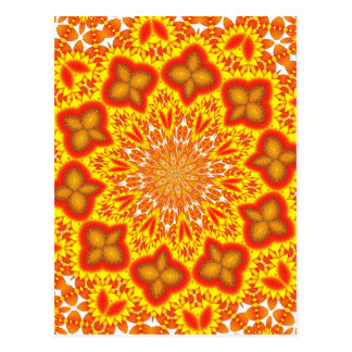 Kaleidoscope Art Postcard