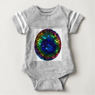 kaleidoscope baby bodysuit