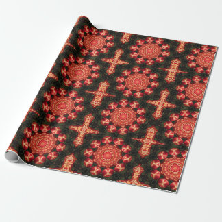 Kaleidoscope Buds Wrapping Paper