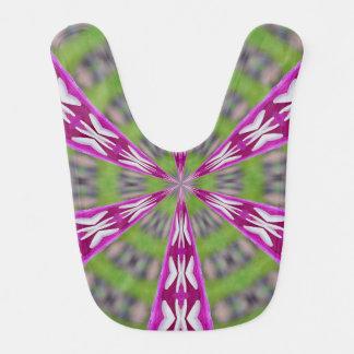 Kaleidoscope Dahlia Bib