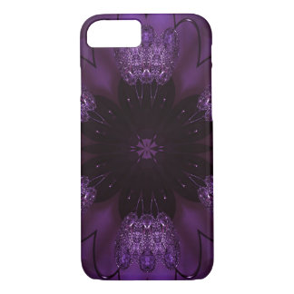 Kaleidoscope Design Chic Elegant Shiny Purple iPhone 7 Case