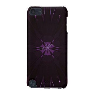 Kaleidoscope Design Chic Elegant Shiny Purple iPod Touch (5th Generation) Cases