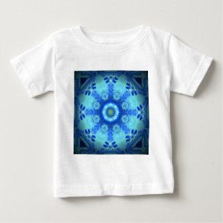 kaleidoscope design image-blue shirt