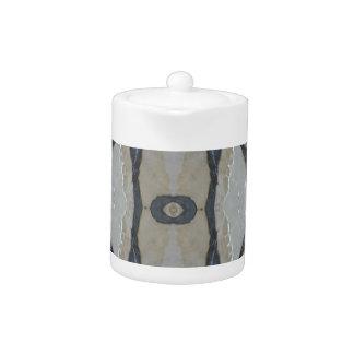 Kaleidoscope Design Light and Dark Gray Pattern