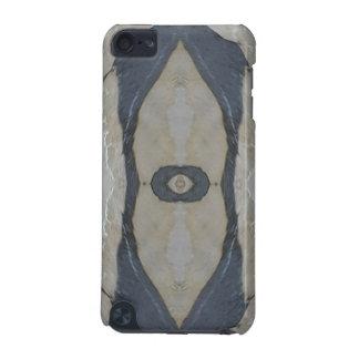 Kaleidoscope Design Light and Dark Gray Pattern iPod Touch (5th Generation) Case
