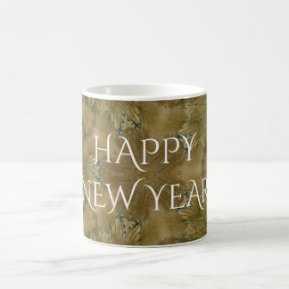 Kaleidoscope Design Pampas Grass Star Coffee Mug