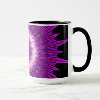 Kaleidoscope Design Purple Pink Art Mug