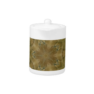 Kaleidoscope Design Star from Pampas Grass Green