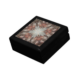 Kaleidoscope Design Star from Trunk of Palm Tree Gift Box