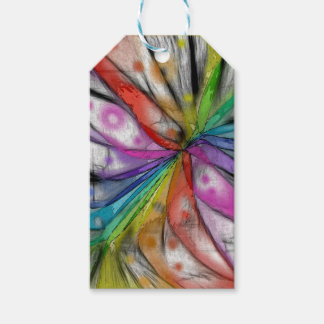 Kaleidoscope Dragonfly Gift Tags