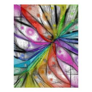 Kaleidoscope Dragonfly Letterhead