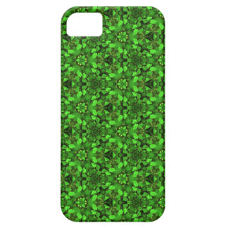 Kaleidoscope Dreams Bright Shamrock Greens iPhone iPhone 5 Cases