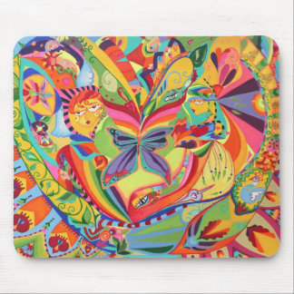 Kaleidoscope Eyes Mouse Pad