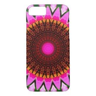 Kaleidoscope Floral Mandala in Hungary: Ed. 197.6 iPhone 8/7 Case