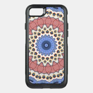 Kaleidoscope Floral Mandala in Vienna: Ed. 221.1 OtterBox Commuter iPhone 8/7 Case