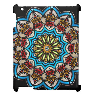 Kaleidoscope Floral Mandala in Vienna: Ed. 221.7 Case For The iPad