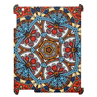 Kaleidoscope Floral Mandala in Vienna: Ed. 221.8 iPad Cover