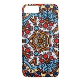 Kaleidoscope Floral Mandala in Vienna: Ed. 221.8 iPhone 8/7 Case