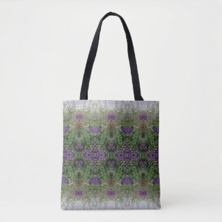 Kaleidoscope Flower Pattern 26 Medium Tote Bag