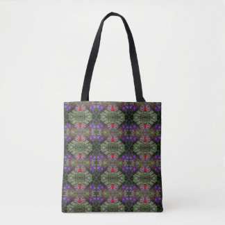 Kaleidoscope Flower Pattern 29 Medium Tote Bag
