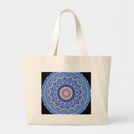 Kaleidoscope Fractal 311 Tote Bags