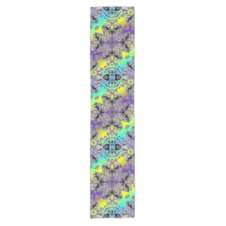 Kaleidoscope Fractal Pattern XIII + your ideas Short Table Runner