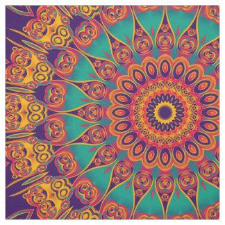 Kaleidoscope Fractal - tattoo II + your ideas Fabric