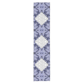 Kaleidoscope Frame Fractal I + your image Short Table Runner
