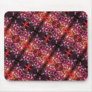 Kaleidoscope Gems Mouse Pad