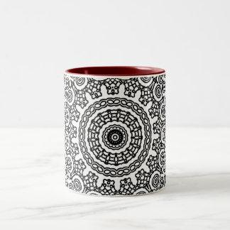 Kaleidoscope Hibiscus Mug