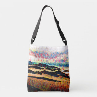 Kaleidoscope Hills Crossbody Bag