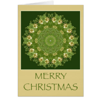 Kaleidoscope Kard for Christmas Greeting Card
