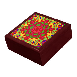 Kaleidoscope Keepsake Jewelry Gift Box