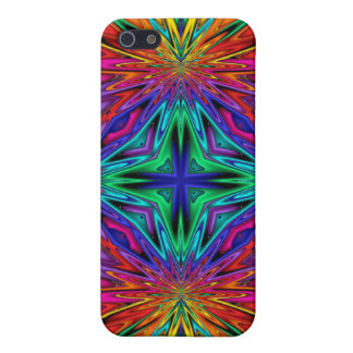 Kaleidoscope Kreations Flashing Fractal No2 iPhone 5 Case
