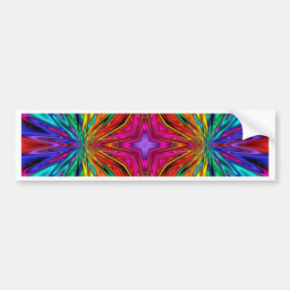 Kaleidoscope Kreations Flashing Fractal No3 Bumper Sticker