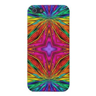 Kaleidoscope Kreations Flashing Fractal No3 iPhone 5 Cases