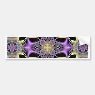 Kaleidoscope Kreations Lemon & Lilac No 3 Bumper Sticker