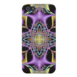 Kaleidoscope Kreations Lemon & Lilac No 3 iPhone 5/5S Cover