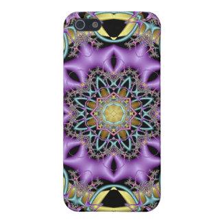 Kaleidoscope Kreations Lemon & Lilac No 3 iPhone 5 Case