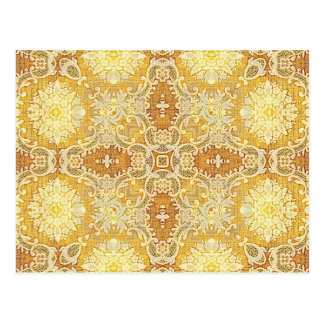 Kaleidoscope Kreations Lemon Tapestry 1 Postcard