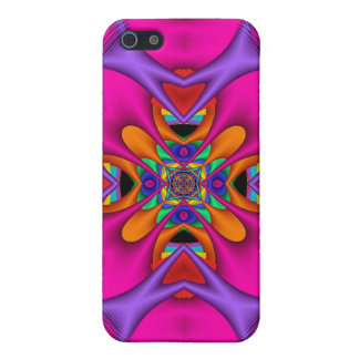 Kaleidoscope Kreations Neon No 3 iPhone 5/5S Cover