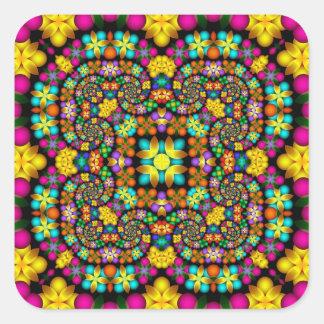 Kaleidoscope Kreations Precious Petals No 2 Square Sticker