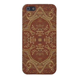 Kaleidoscope Kreations Rust Tapestry 3 iPhone 5/5S Covers