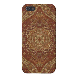 Kaleidoscope Kreations Rust Tapestry 4 Case For iPhone 5/5S