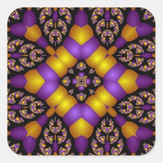 Kaleidoscope Kreations Twizzler No 1 Square Sticker