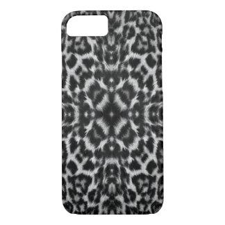 Kaleidoscope leopard skin fur pattern iPhone 7 case
