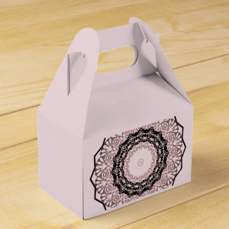 Kaleidoscope , mandala favor box