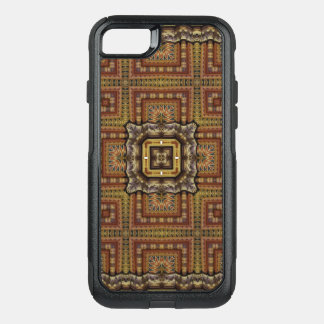 Kaleidoscope Mandala in Hungary: Matthias Pattern OtterBox Commuter iPhone 7 Case