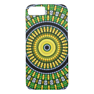 Kaleidoscope Mandala in Hungary: Pattern 197.3 iPhone 7 Case