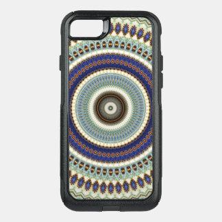 Kaleidoscope Mandala in Hungary: Pattern 197.5 OtterBox Commuter iPhone 8/7 Case
